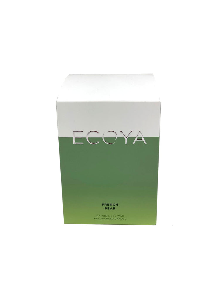 ECOYA Scented Candle, French Pear, 400 gm