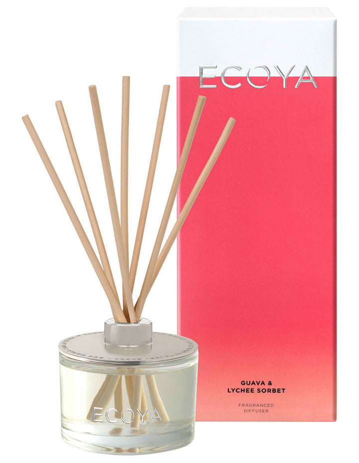 ECOYA Scented Diffuser, Guava & Lychee Sorbet, 200 ml