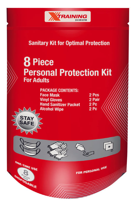 8 piece Personal Protection Kit