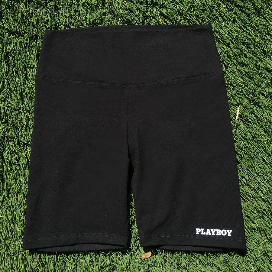 Branded Bike Shorts - bustleclothing.shop