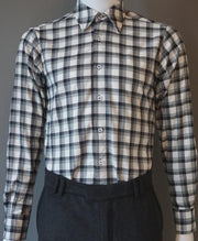 Plaid Classic Cut Shirt 60% OFF - bustleclothing.shop