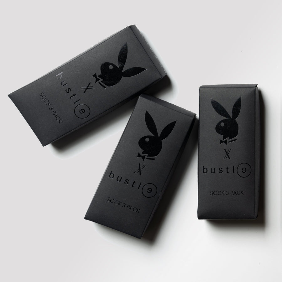 Playboy x Bustle | Accessories | Socks 3 Pack Box | Set 2 - bustleclothing.shop