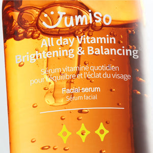 Jumiso - All Day Vitamin Brightening & Balancing Facial Serum 30ml
