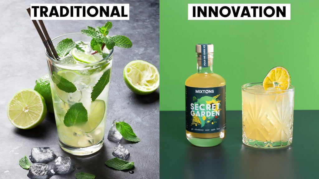 Top 10 Cocktails - Mojito - Mixtons