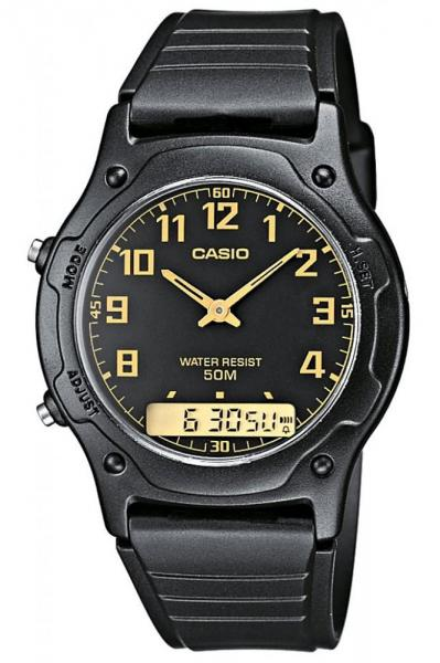Unisex käekell Casio Collection AW-49H-1BVEF - Premiumkellad
