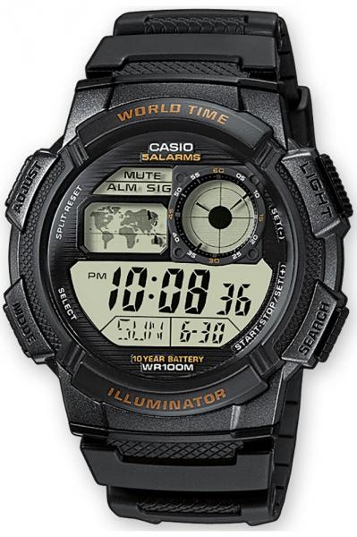 Meeste käekell Casio Collection AE-1000W-1AVEF - Premiumkellad