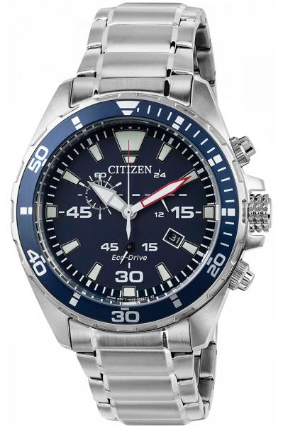 Meeste käekell Citizen Chronograph Eco-Drive AT2431-87L - Premiumkellad