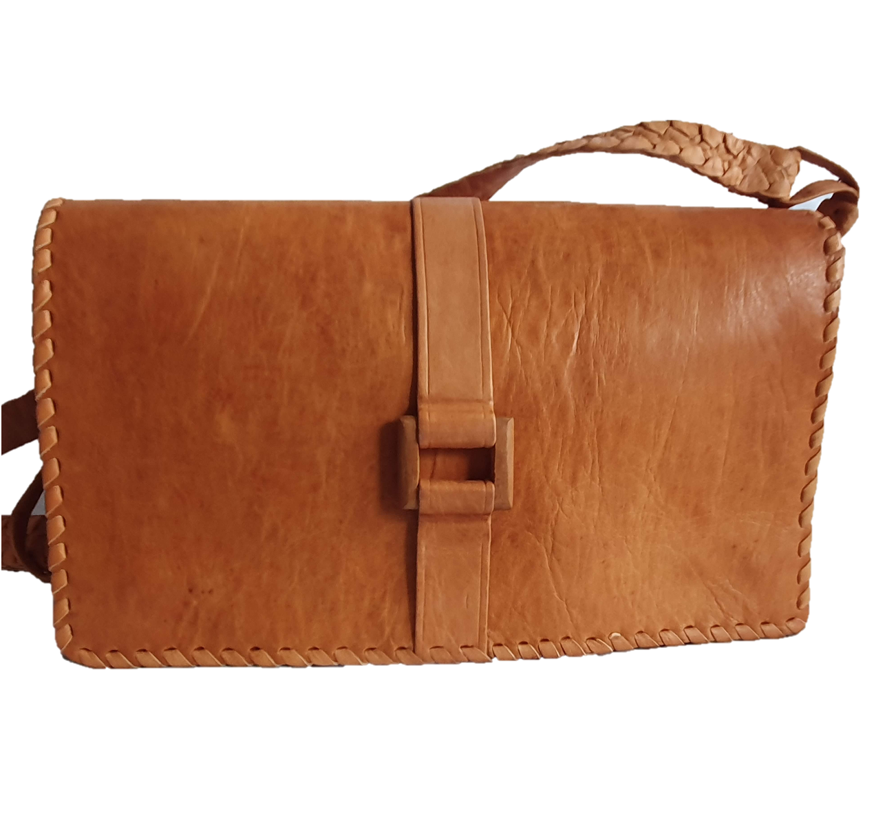 Lorma Wood Accent Crossbody