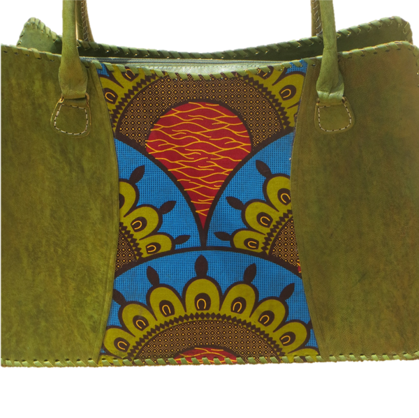 Bassa Ankara Shoulder Bag