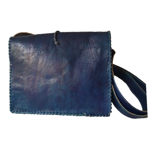 Malik Cow Horn Messenger Bag