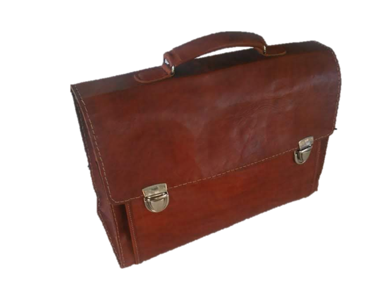 Malik Brown Briefcase