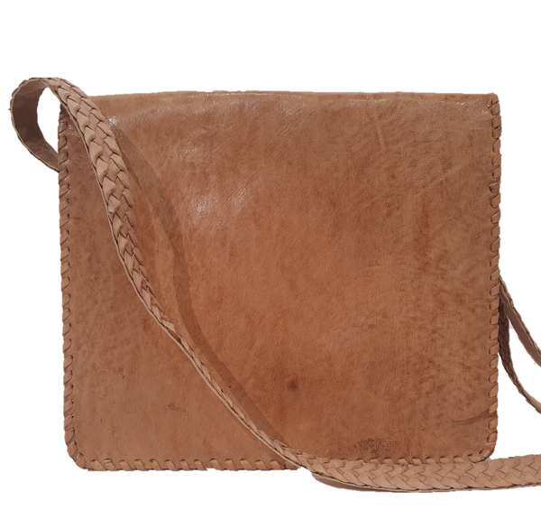 Tan Bassa Crossbody