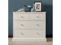 Annabelle 2+2 Drawer Chest - Ward Brothers Furniture