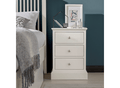 Annabelle 3 Drawer Bedside - Ward Brothers Furniture