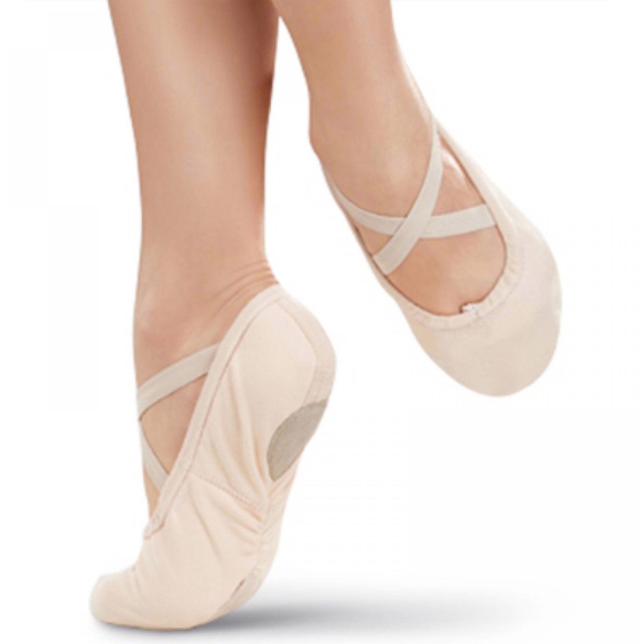 Pro #1 Canvas Splitsole Ballet Slipper