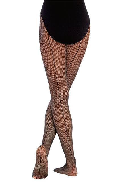 Seamed Fishnet Tights - Child