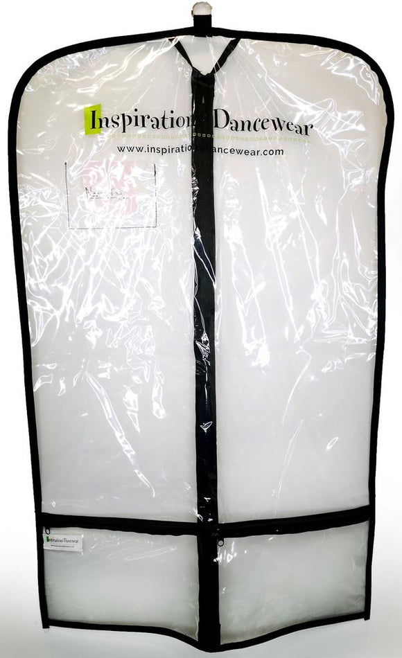 Inspirations Clear Garment Bag - 10 Pack