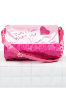 Heart Barrel Bag