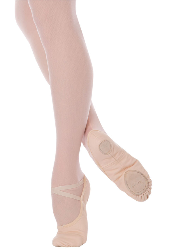 Canvas Splitsole Ballet Slipper - Child