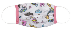 Protective Kids Face Cover - Mermaid