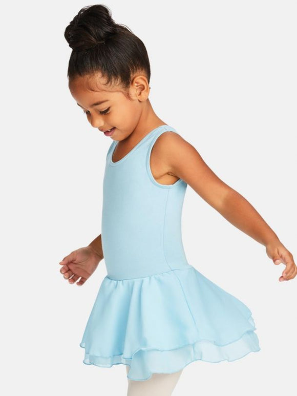 CC877C Skirted Tank Dress - Child