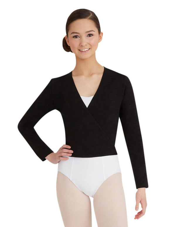 Basic Wrap Sweater - Adult