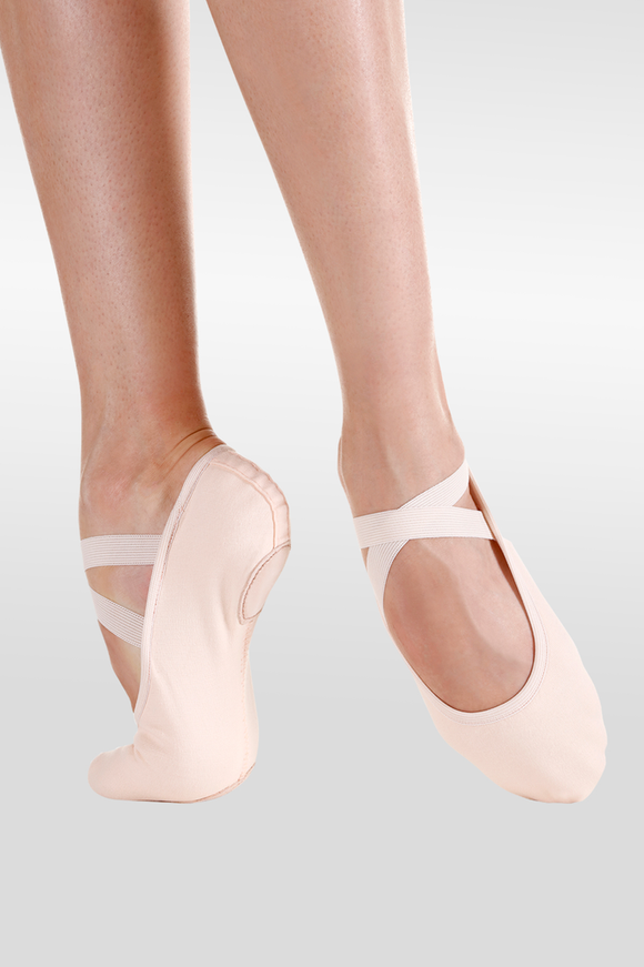 Canvas Split Sole Ballet Slipper - Adult