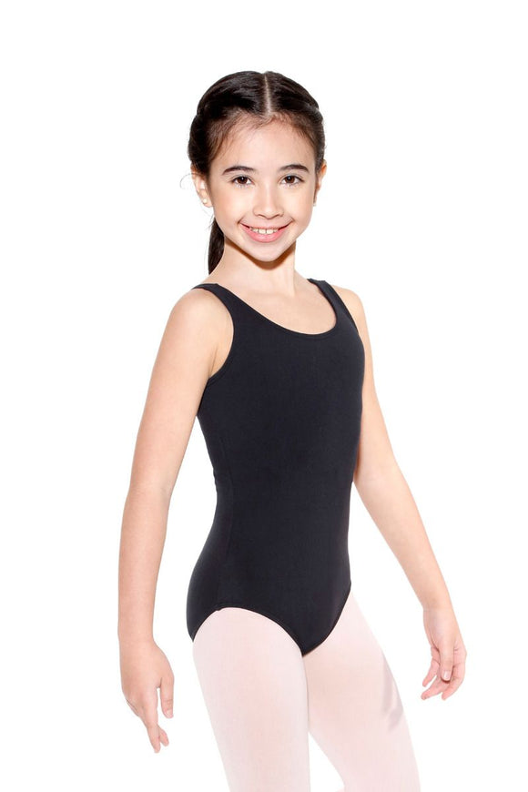 Microfibre Tank Leotard - Child