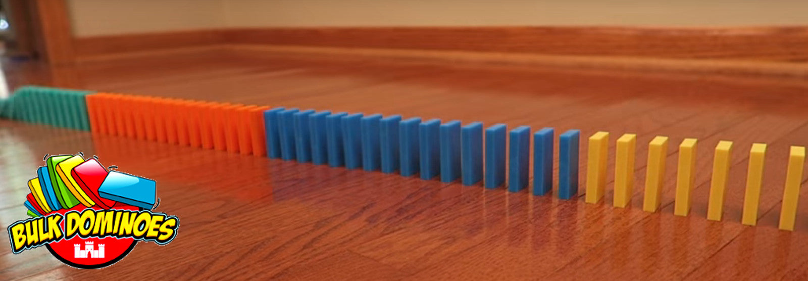 The highest quality stacking and toppling dominoes!