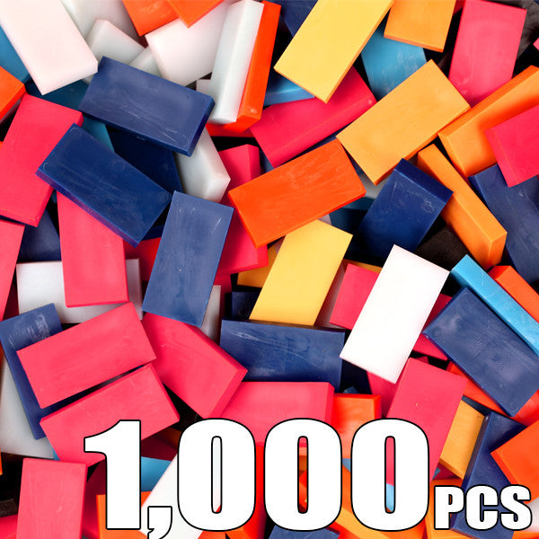 Bulk Dominoes - 1000pc CLOSEOUT - MIXED - Bulk Pack