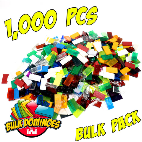 Bulk Dominoes - Mixed 1000pc Bulk Pack