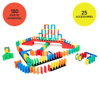 205 Pcs Kinetic Domino Toppling Kit