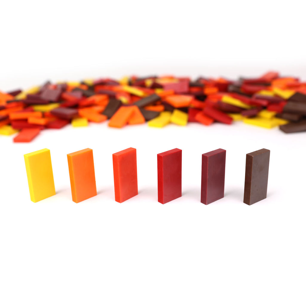 Bulk Dominoes - Autumn Mix