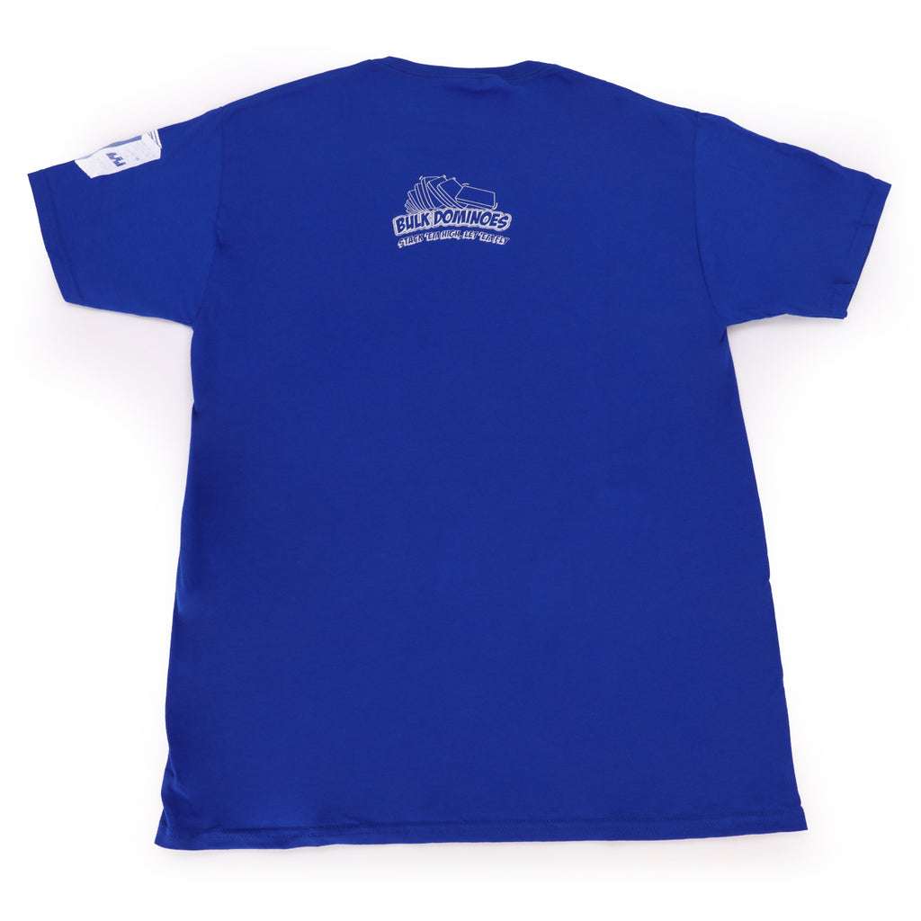 Bulk Dominoes - Blue Tech T-Shirt