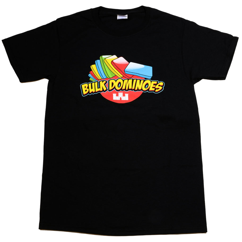 Bulk Dominoes - Black Bulk Dominoes T-Shirt