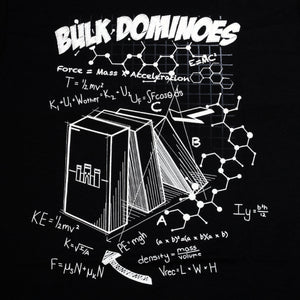 Bulk Dominoes - Black Tech T-Shirt