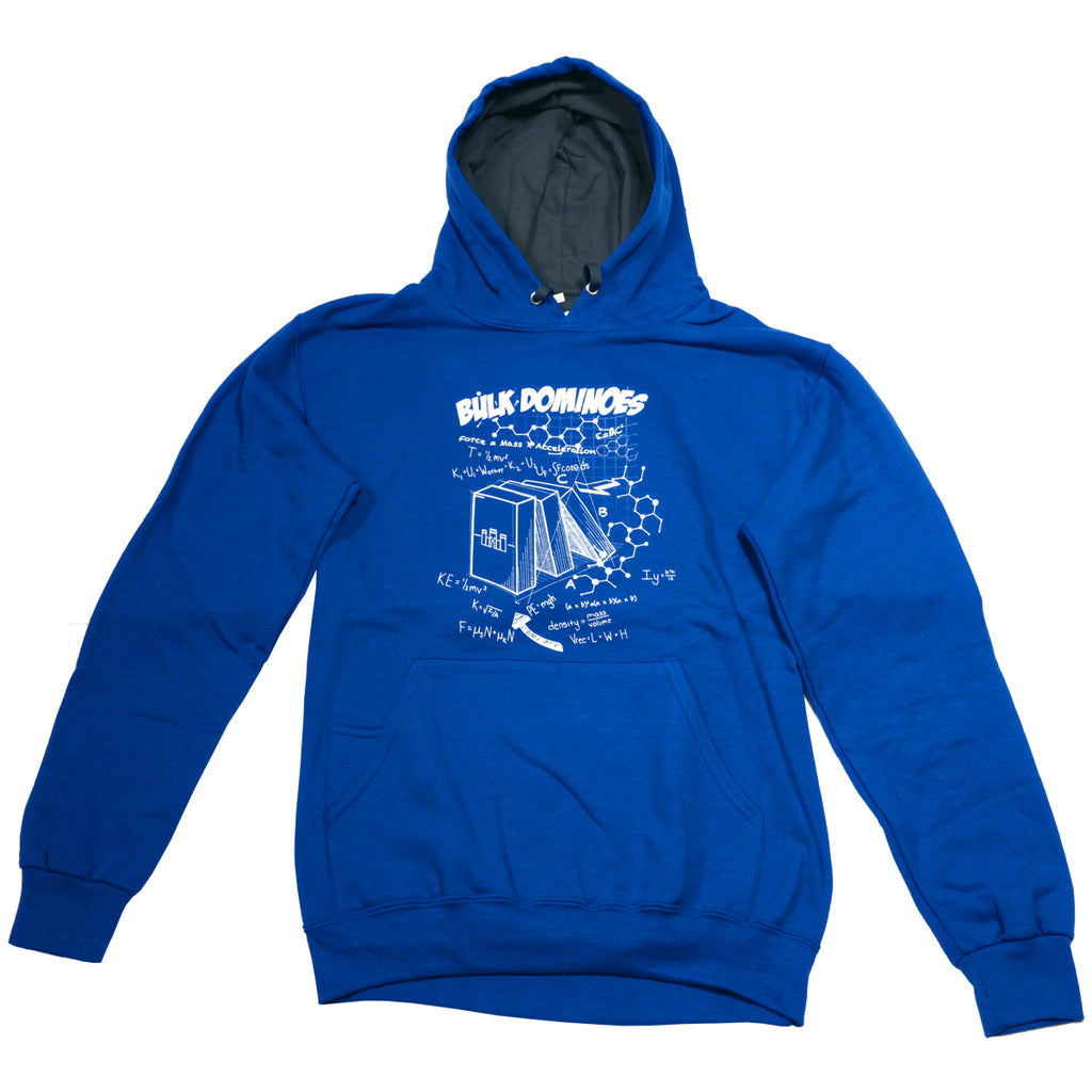 Bulk Dominoes - Blue Tech Hoodie