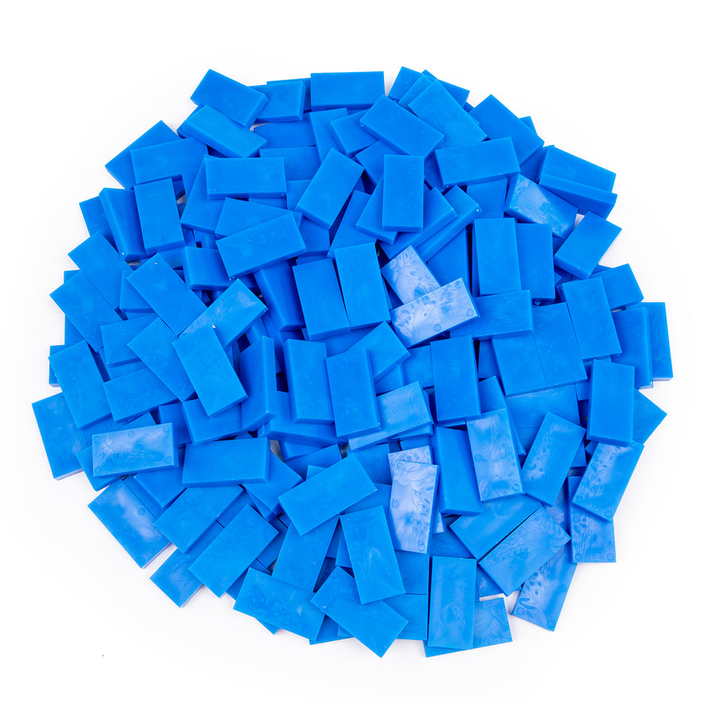 Bulk Dominoes - Blue