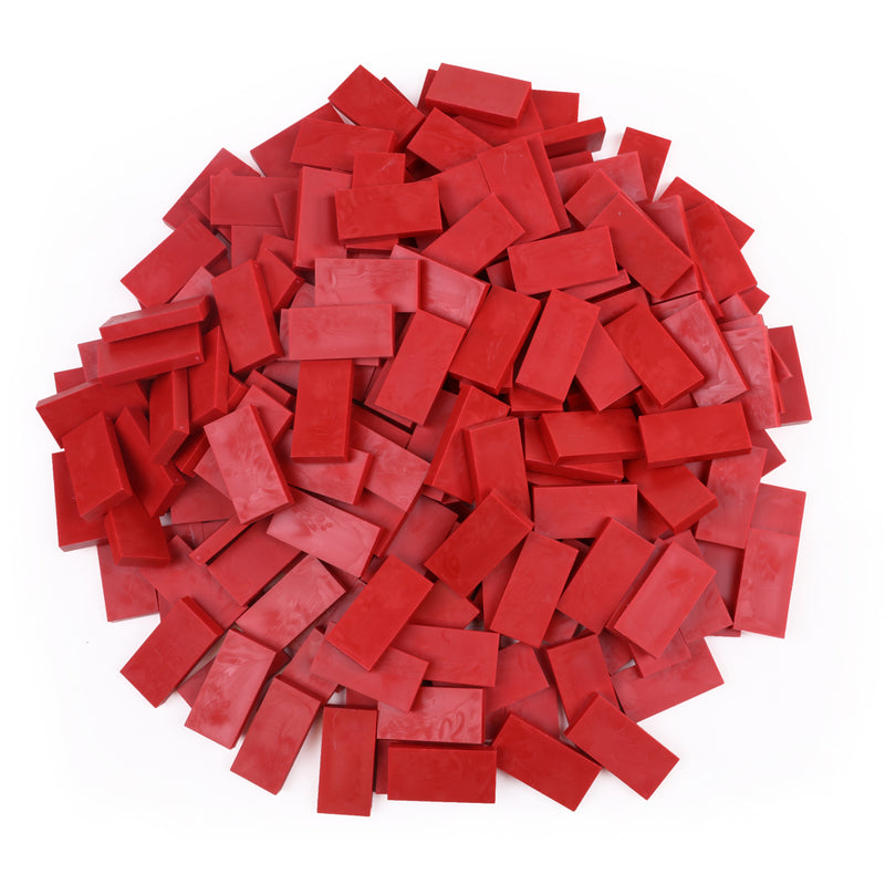 Bulk Dominoes - Brick Red