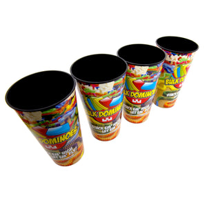 Bulk Domino 32oz Cups - 4 Pack