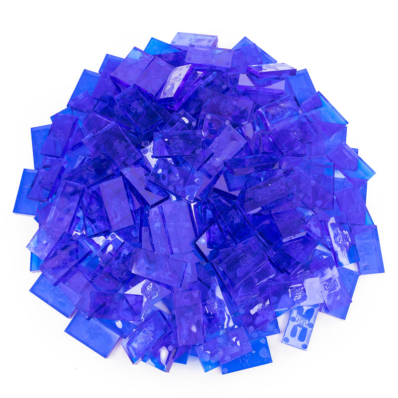 Bulk Dominoes - Clear Blue