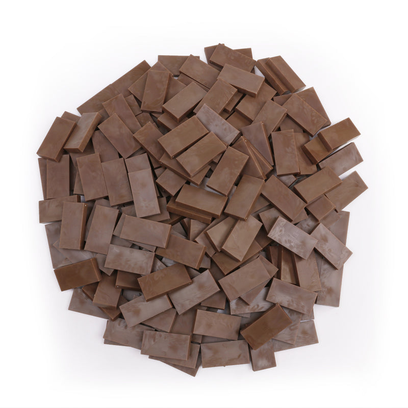 Bulk Dominoes - Cocoa Brown