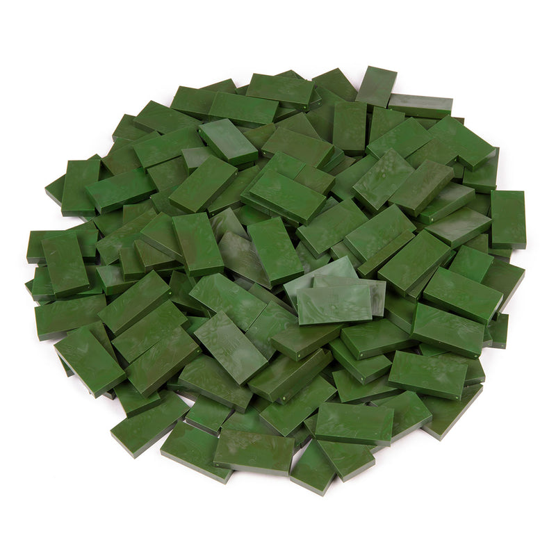 Bulk Dominoes - Forest Green