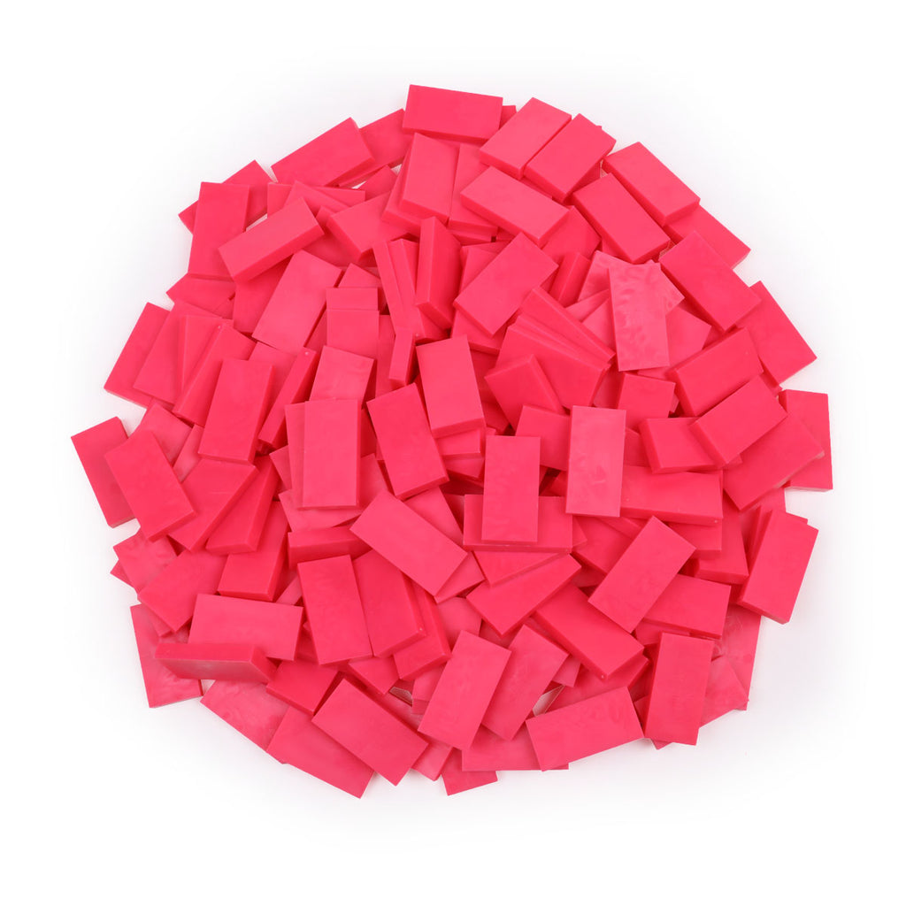 Bulk Dominoes - Neon Pink