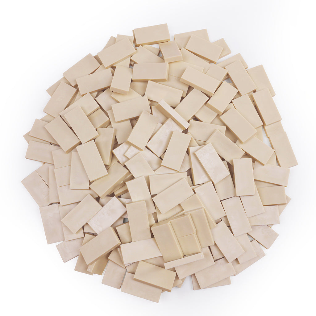 Bulk Dominoes - Ivory