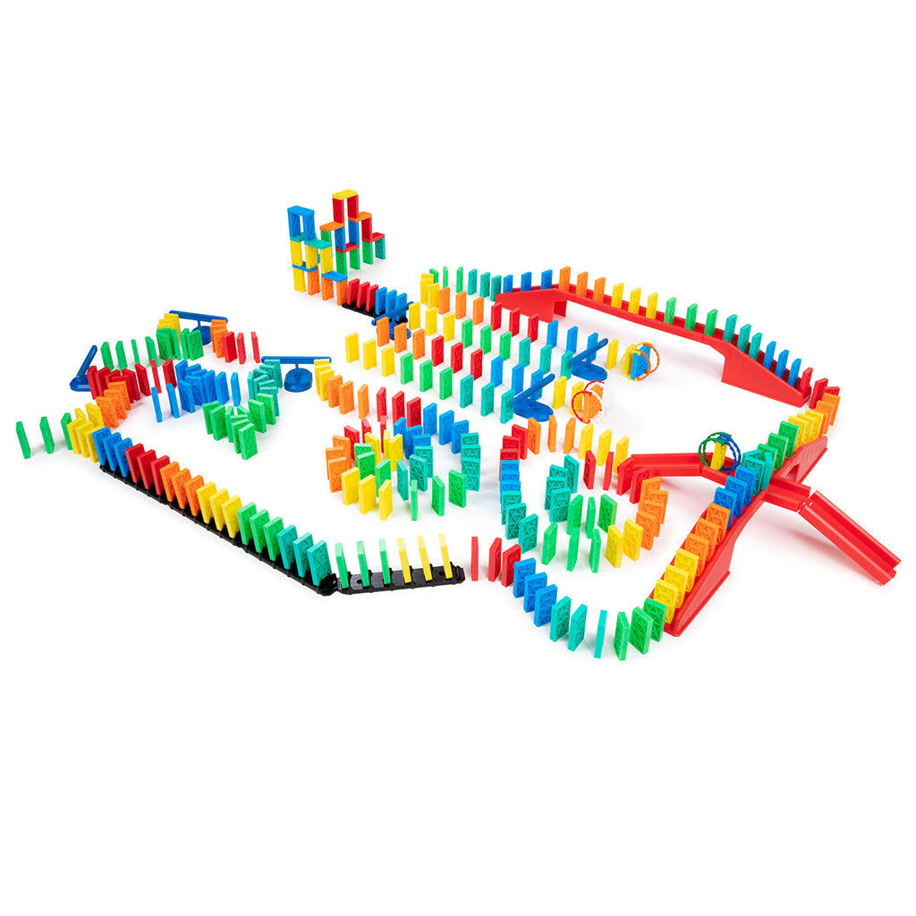 329 Pcs Kinetic Domino Toppling Kit