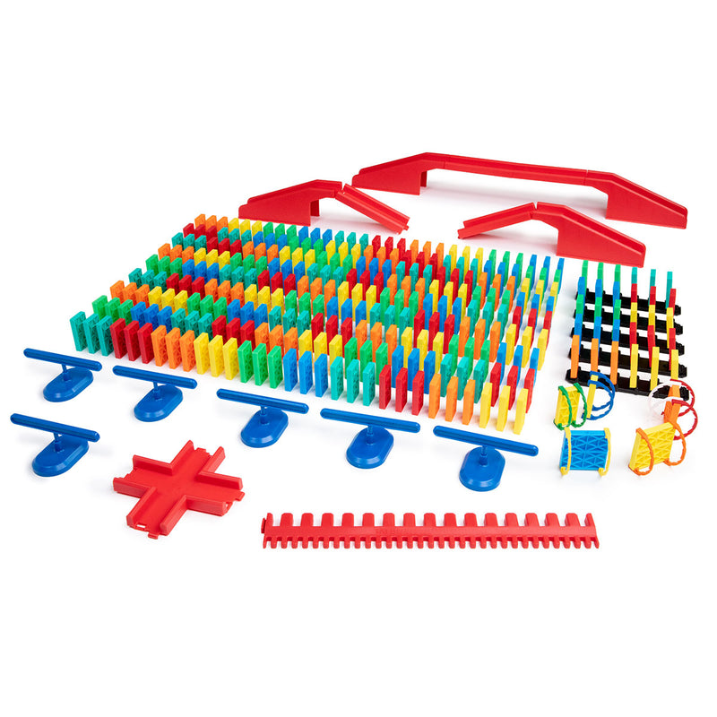 333 Pcs Kinetic Domino Toppling Kit
