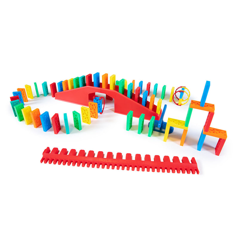 68 Pcs Kinetic Domino Toppling Kit