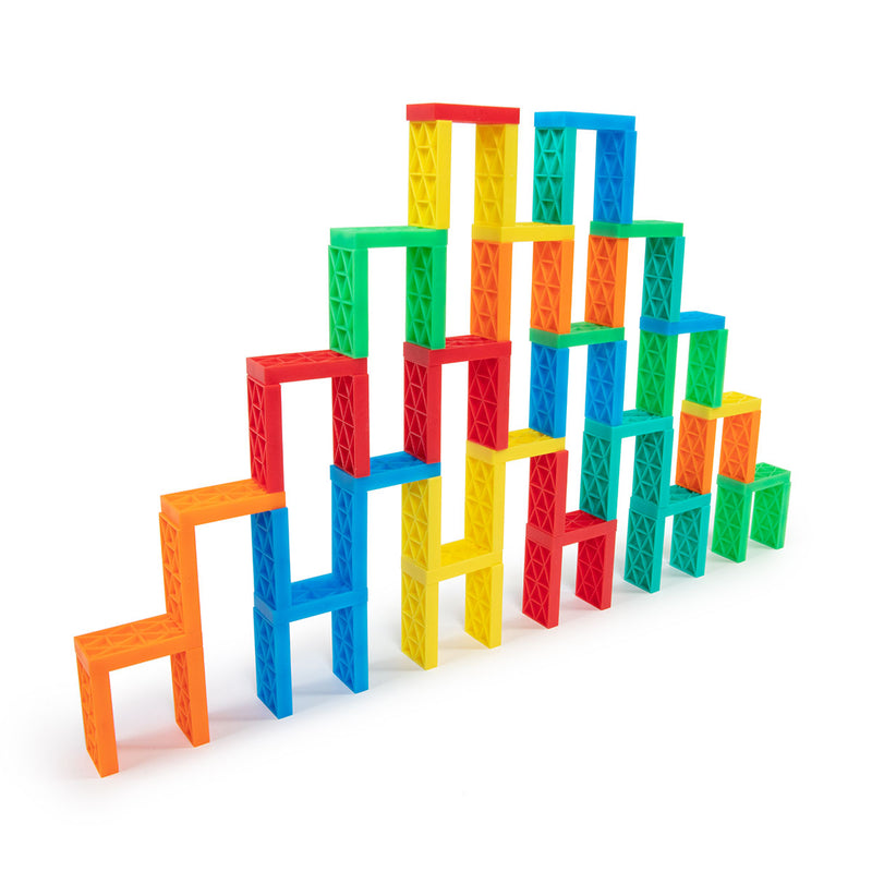 70 Pcs Kinetic Domino Toppling Kit