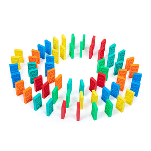 70 Pcs Kinetic Domino Toppling Kit & BD5000 Launcher